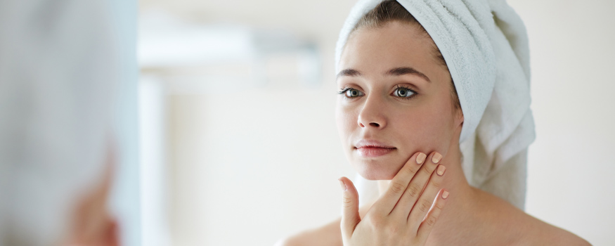 At-home chemical peel